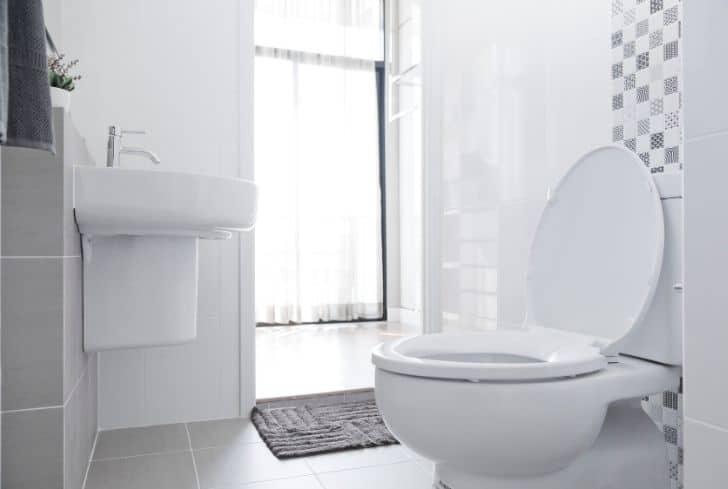 white-toilet