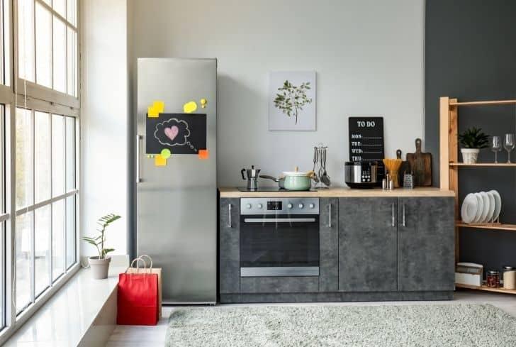 modern-kitchen-with-refrigerator