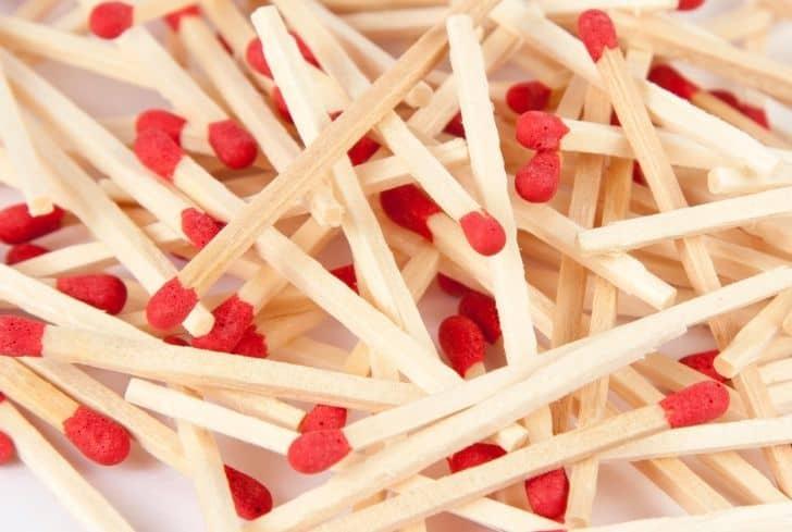 match-sticks