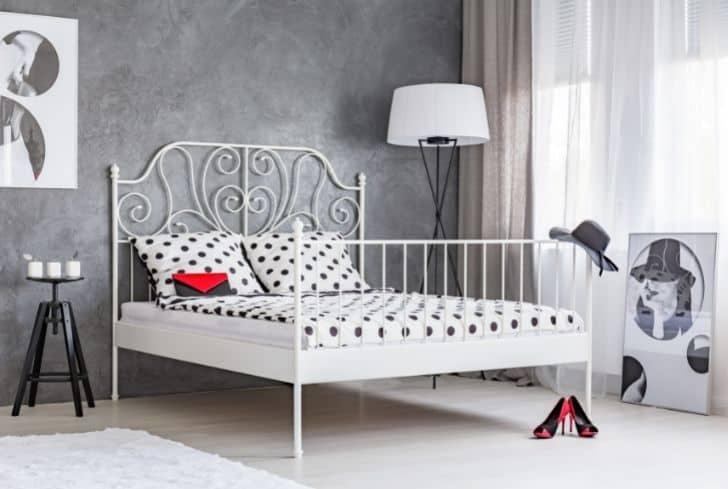 white-bed-frame